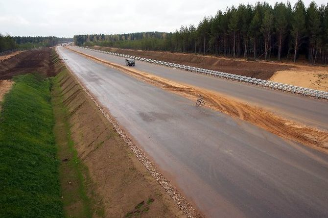 Строительство томской части трассы Пермь — Мариинск обойдётся в 61 миллиард рублей