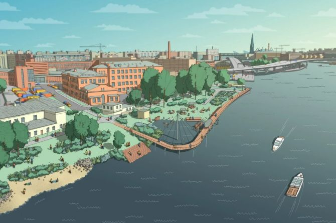 Петербургские урбанисты предложили «Заросли» вместо строительства дороги