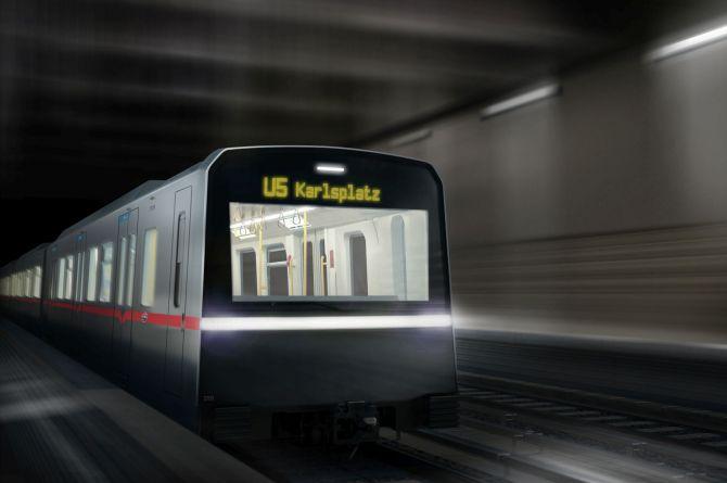 В Гамбурге представили первый беспилотный поезд