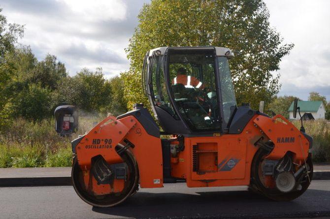 «Смоленскавтодор» ремонтирует дорогу в Починковском районе