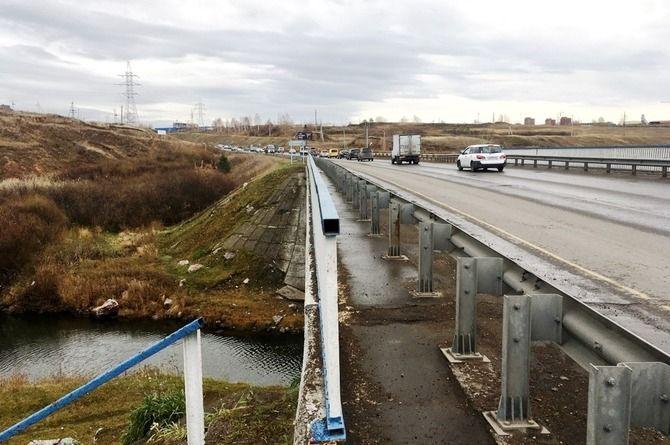 В Красноярске начался масштабный ремонт Северного шоссе
