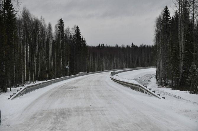 Завершён первый этап строительства дороги до заповедника «Кижи»