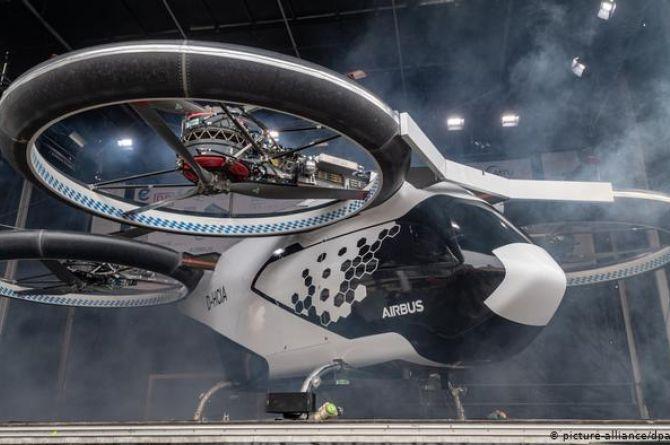 В Москве к 2025 году появится аэротакси